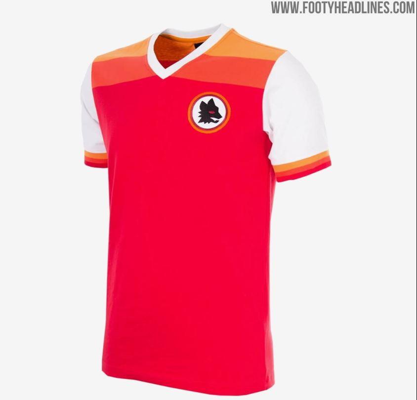 Roma, un tuffo nel passato: ecco la nuova maglia 2020/2021, le ...