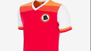 Roma, un tuffo nel passato: ecco la nuova maglia 2020/2021