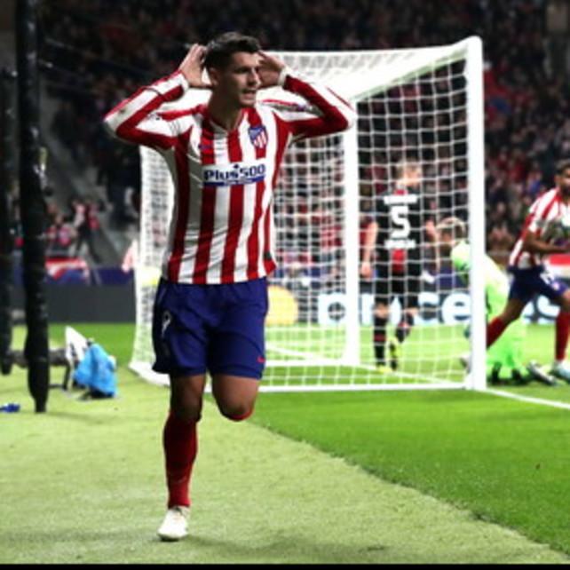 Morata regala tre punti all'Atletico, pari tra Shakhtar e Dinamo
