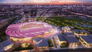 Inter-Miami CF, mega progetto per il nuovo stadio