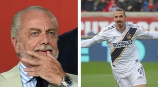 """AdL fa sognare Napoli: """"Ibra un mio desiderio, dipende da lui"""""""