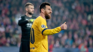 Champions League: il Barcellona soffre ma vince, Liverpool a valanga a Genk