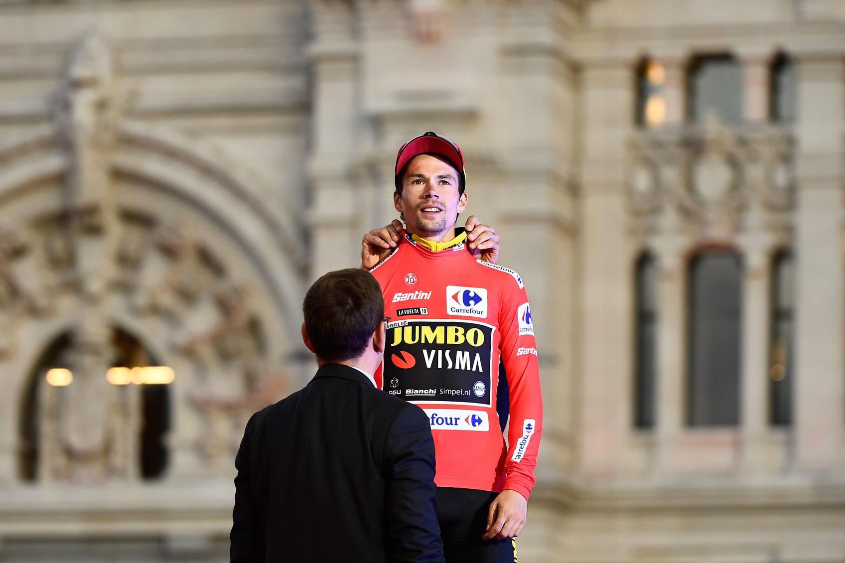 Vuelta: Primoz Roglic (Jumbo-Visma)