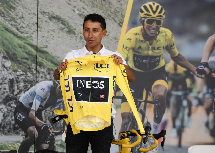 Tour de France: Egan Bernal (Ineos)