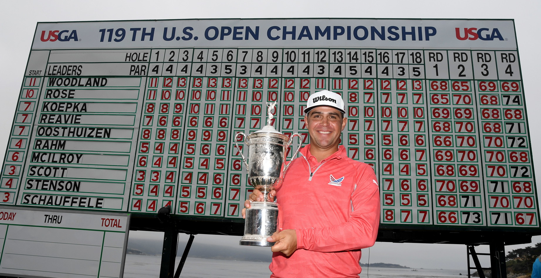 Us Open golf: Gary Woodland