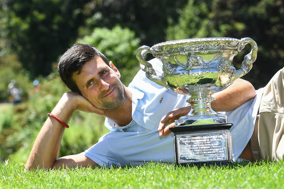 Australian Open tennis: Novak Djokovic