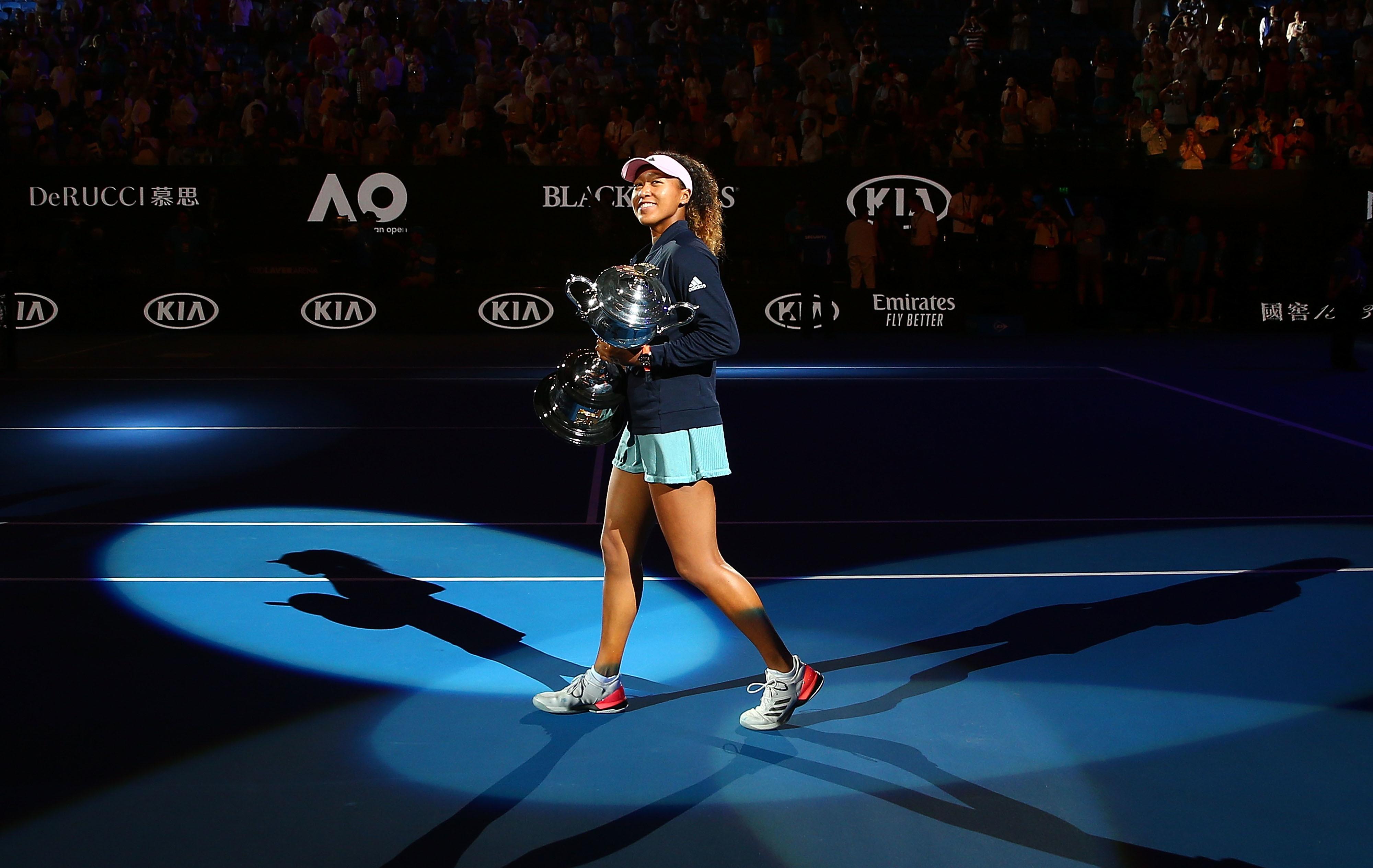 Australian Open tennis: Naomi Osaka