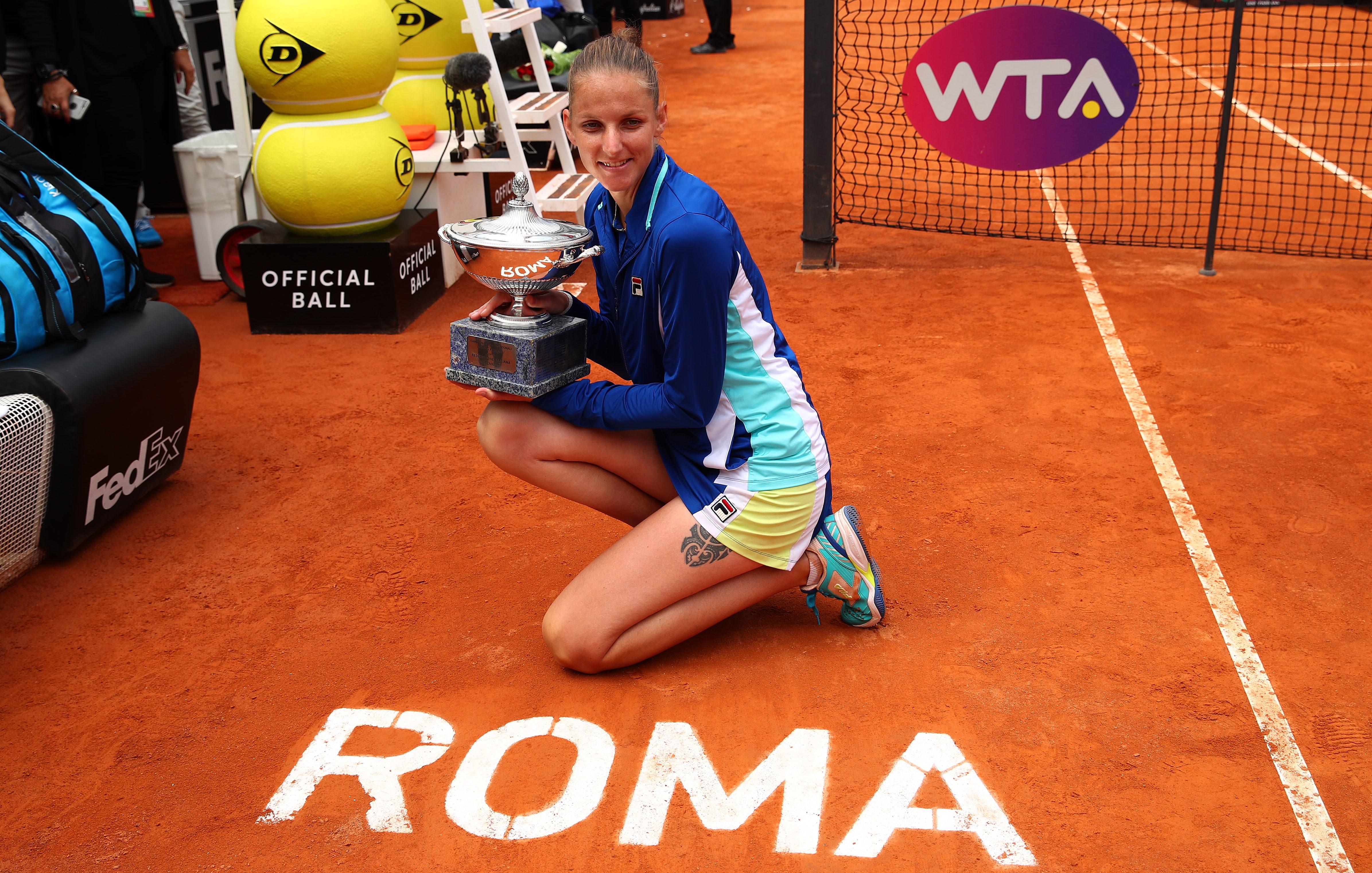Internazionali di Roma tennis: Karolina Pliskova
