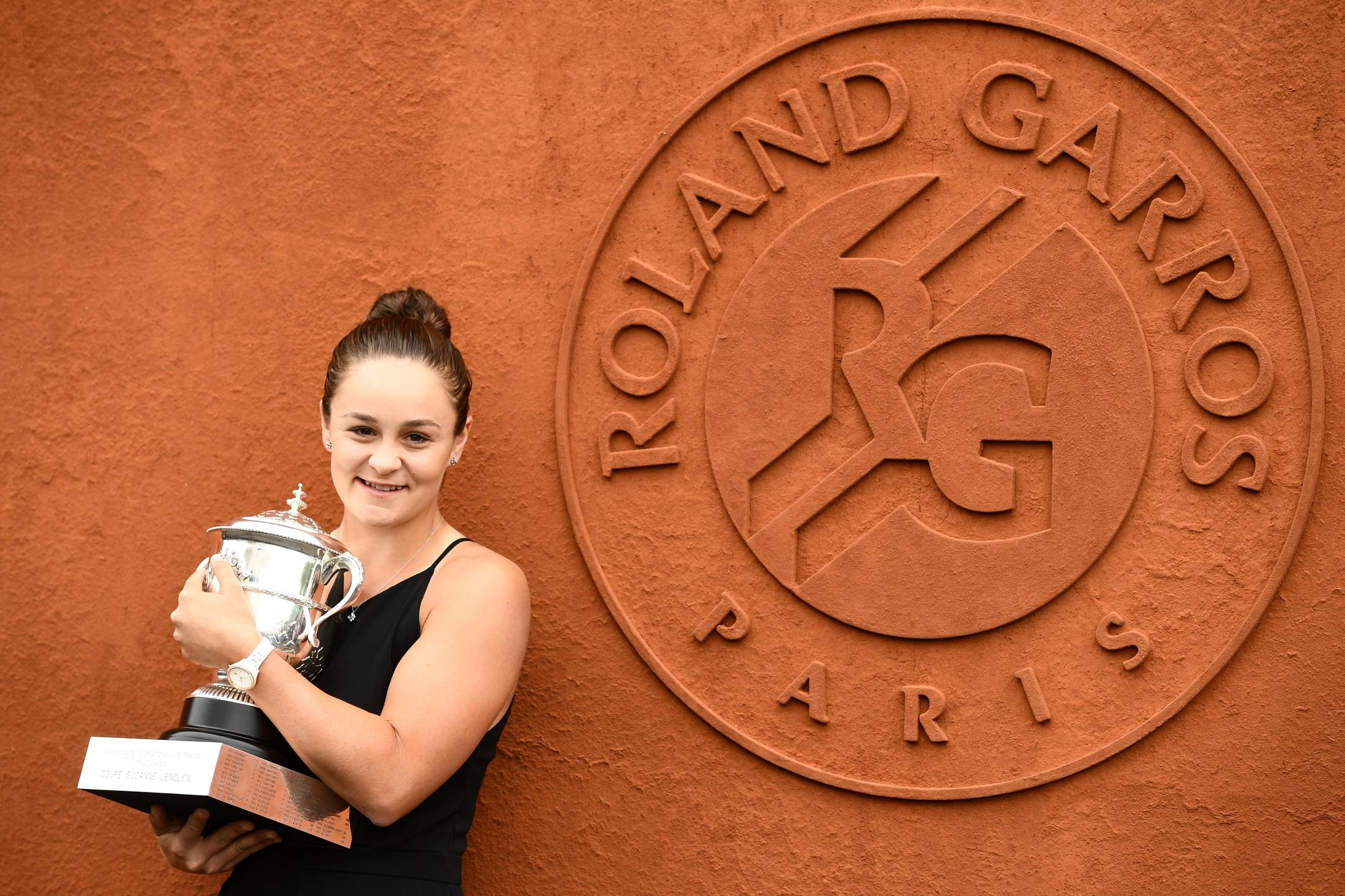 Roland Garros tennis: Ashleigh Barty