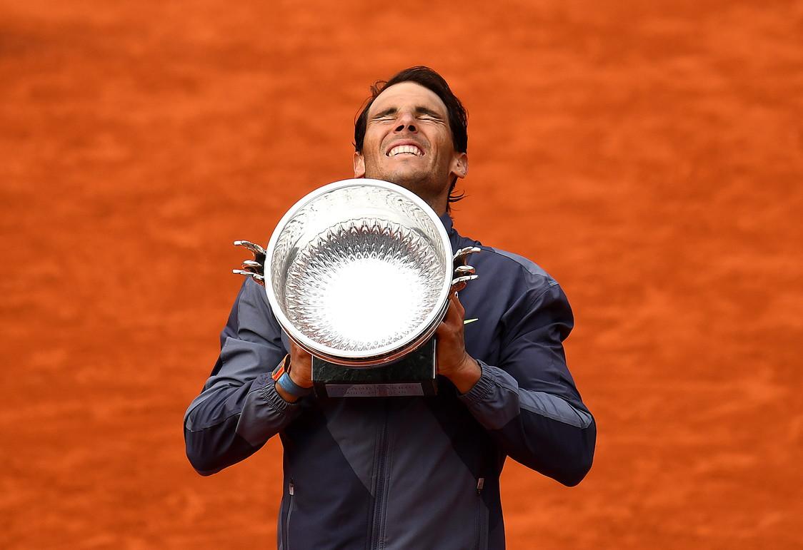 Roland Garros tennis: Rafa Nadal
