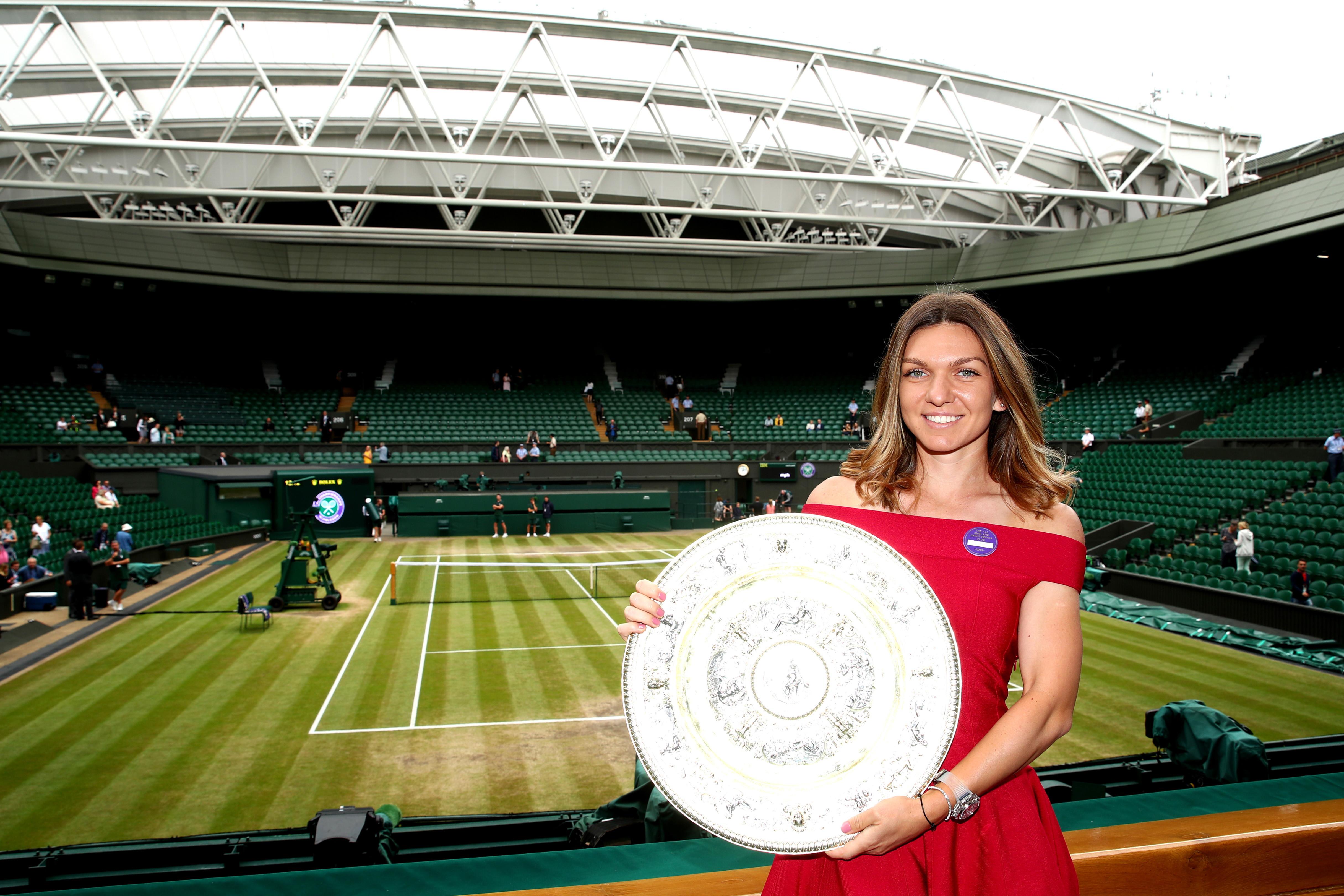 Wimbledon tennis: Simona Halep