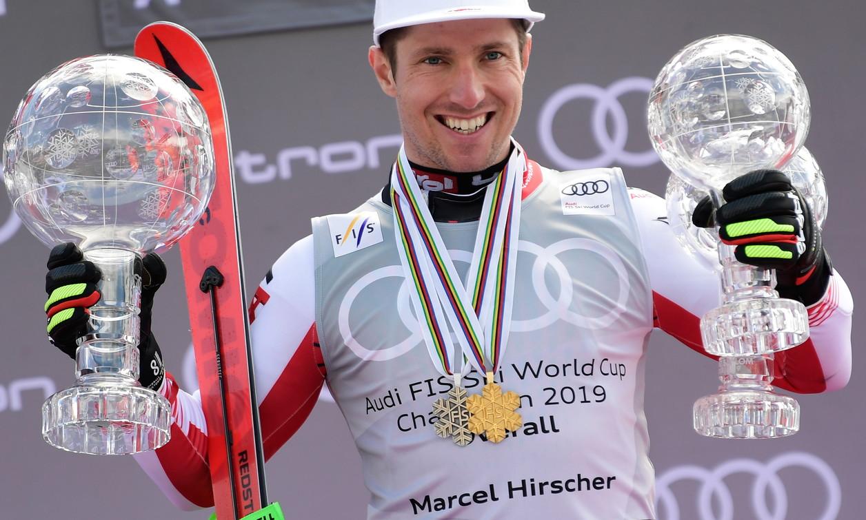 Coppa del Mondo di sci alpino: Marcel Hirscher
