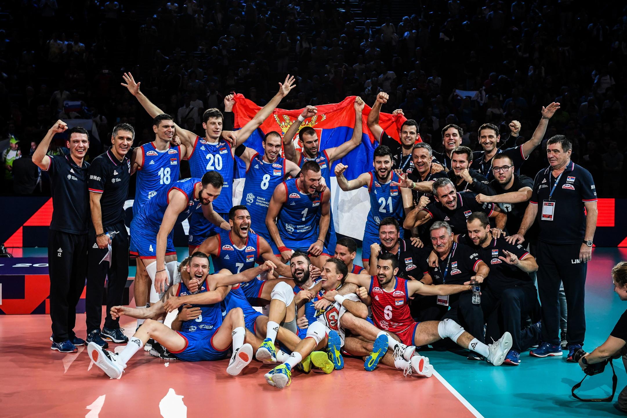 Europei volley maschile: Serbia