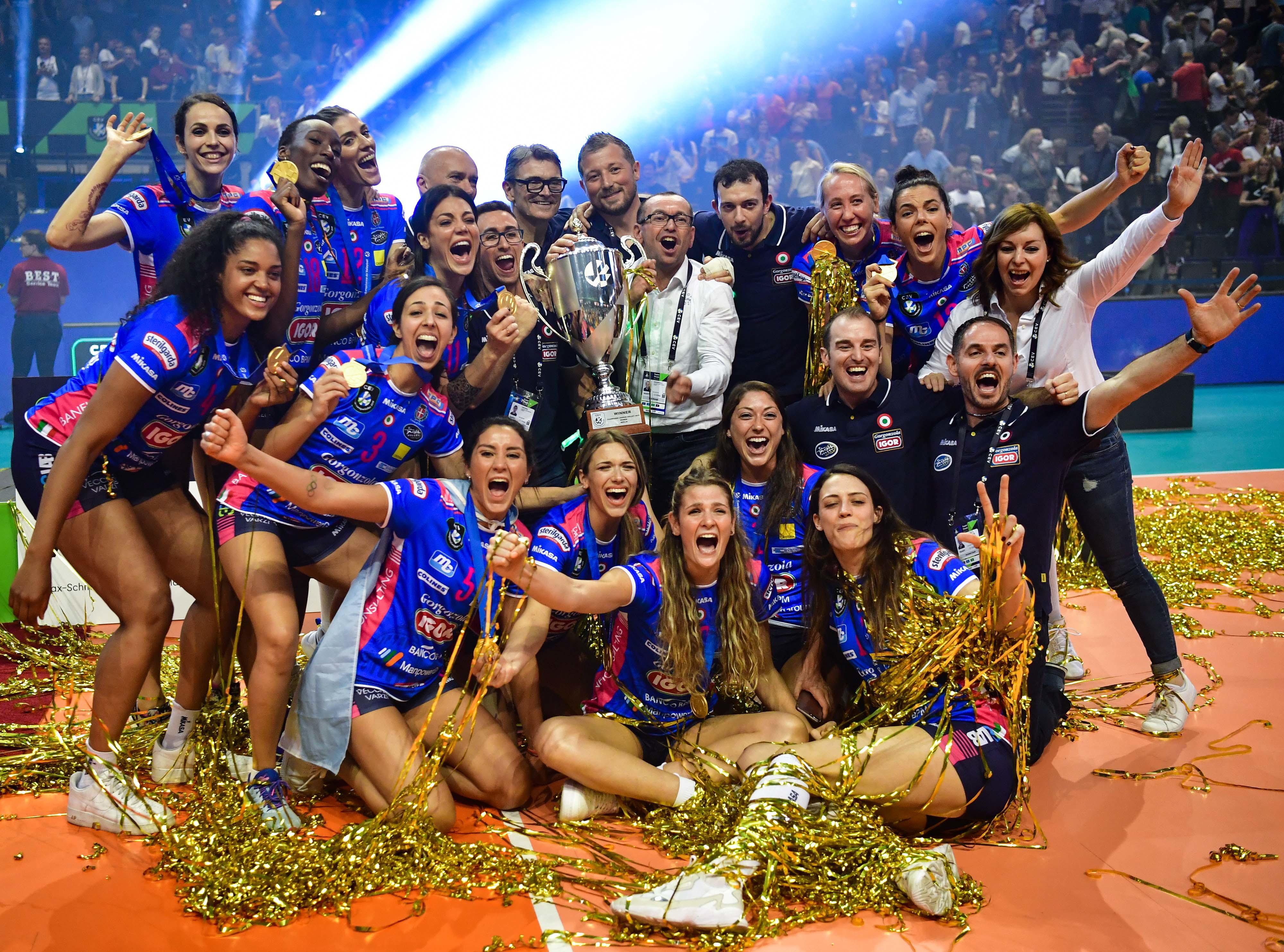 Champions League volley donne: Agil Novara