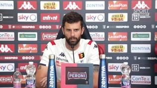 """Genoa, Thiago Motta: """"Dobbiamo vincere, così come il Brescia"""""""