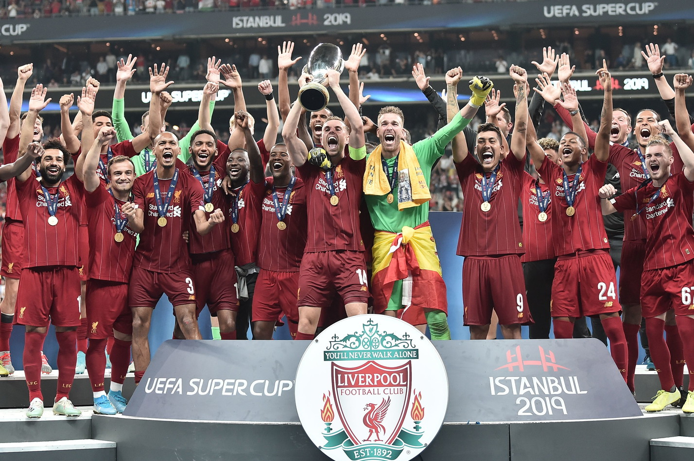 Supercoppa Europea: Liverpool