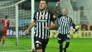 Serie B, Ascoli-Entella 2-1: Ninkovic-Ardemagni, bianconeri a -3 dal Benevento
