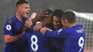 Leicester indomabile: nove gol al Southampton