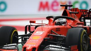 Vettel fa volare la Ferrari nelle Libere 2