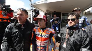 """Marquezcontro Dovizioso: """"Si poteva correre"""". """"No, presa la decisione giusta"""""""