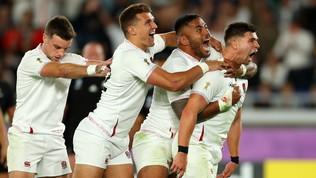 L'Inghilterra fa neri gli All Blacks: è finale