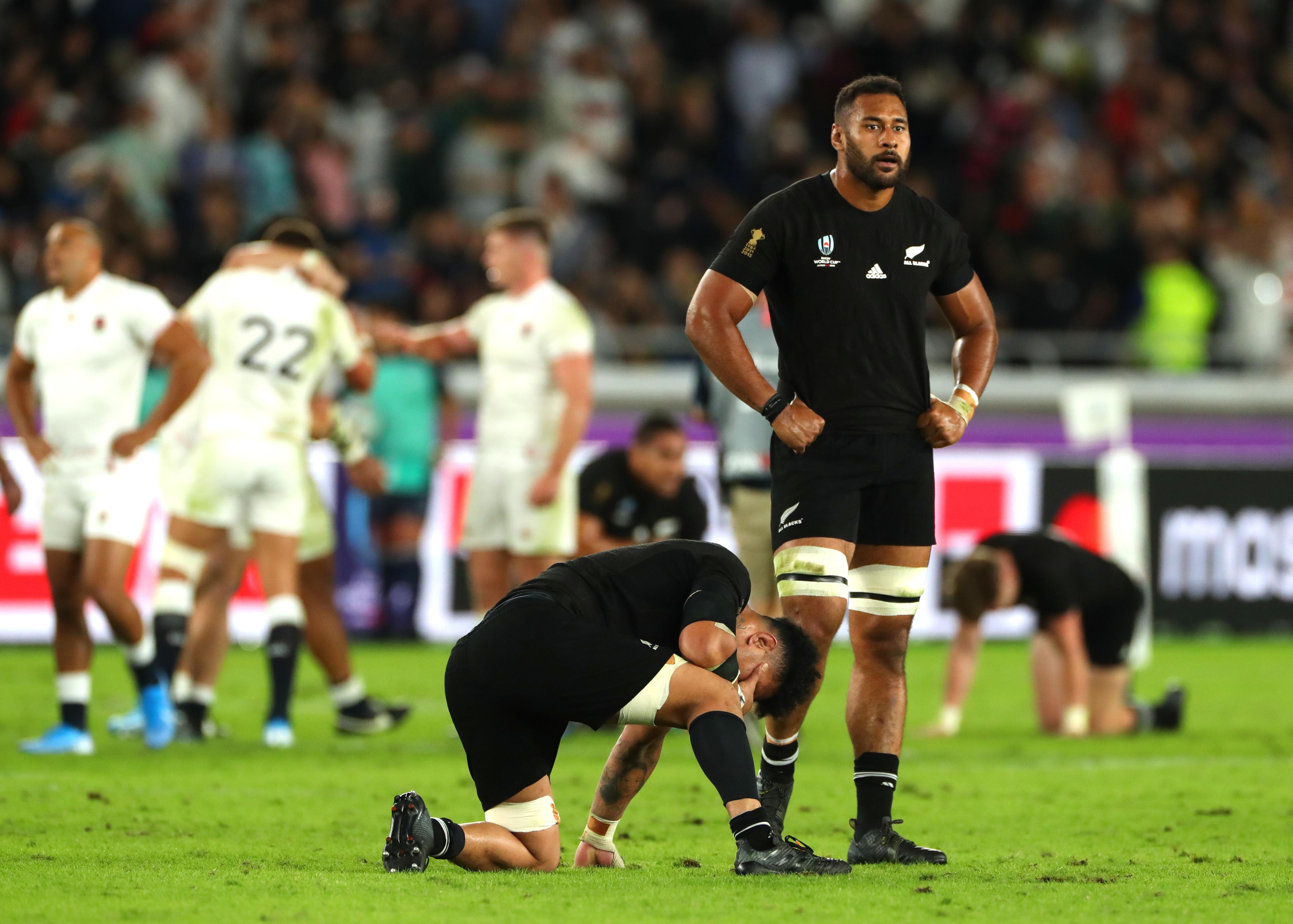 Nuova Zelanda battuta in semifinale ai Mondiali di rugby
