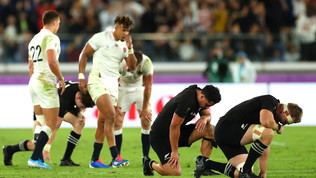 Impresa Inghilterra: All Blacks fuori