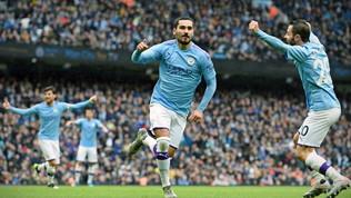 Premier League: City secondo con il tris all'Aston Villa, Lampard vola con la tripletta di Pulisic