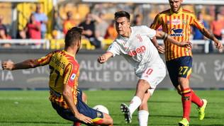 Serie A, il Lecce ferma la Juve: 1-1 al Via del Mare