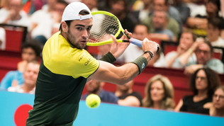Tennis, Atp Vienna: Berrettini cede in tre set, in finale ci va Thiem