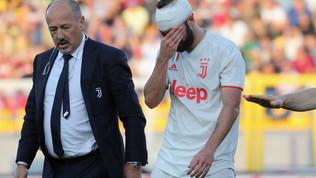 Juve, Higuainsta bene: sutura alla ferita e rientro a Torino con la squadra