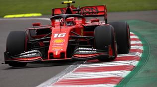 Vola Leclerc, le Ferrari prenotano la prima fila
