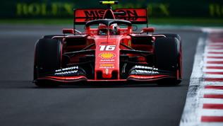 F1 Messico, prima fila Ferrari