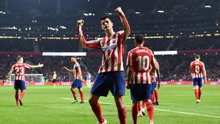 L'Atletico non sbaglia:Athletic ko e aggancio al Barça in vetta