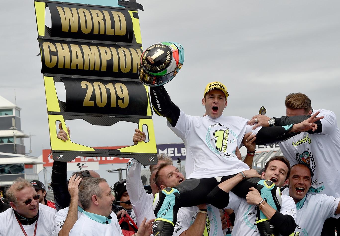 Il toscano vince gara e campionato a Phillip Island