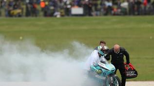 Dalla Porta regala il primo titolo Moto3 all'Italia