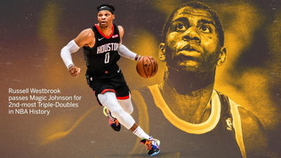 Nba, Westbrook nella storia: superato Magic Johnson