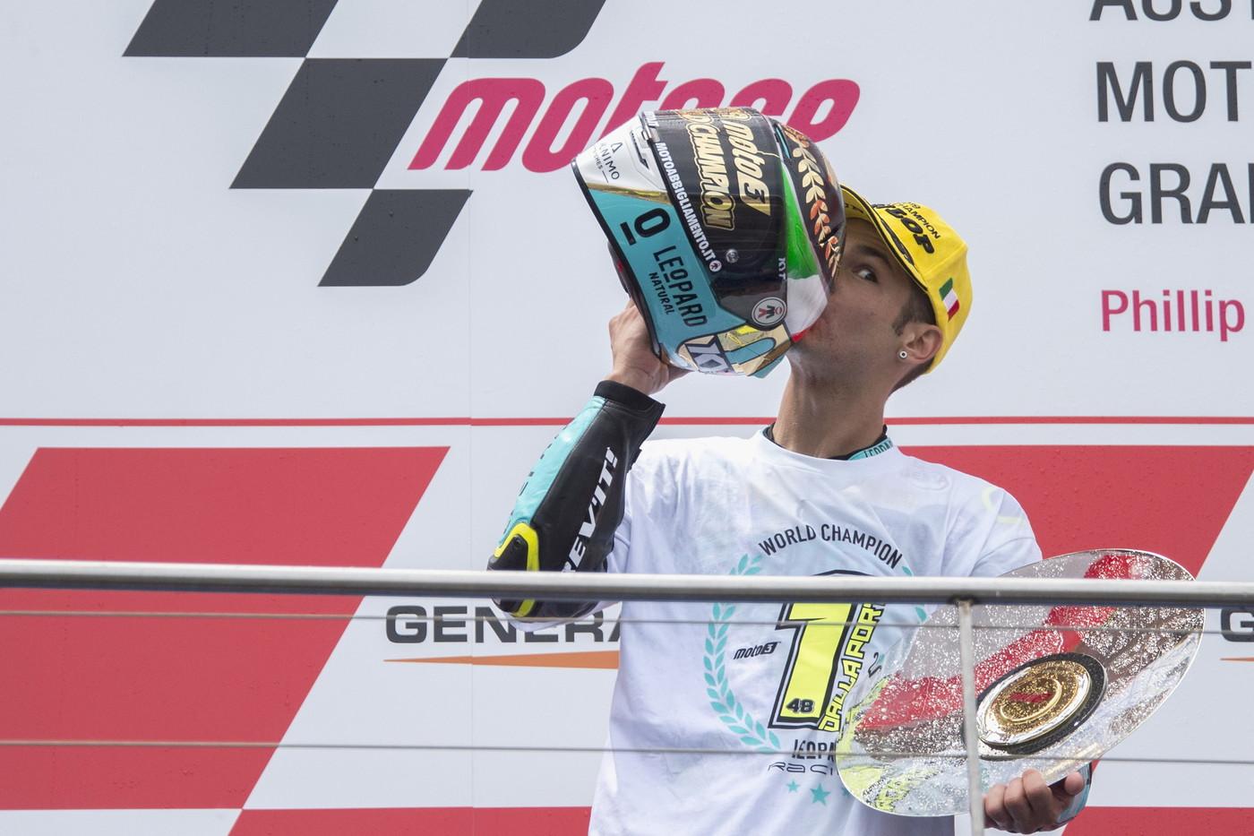 Moto 3: Lorenzo Dalla Porta (Honda)