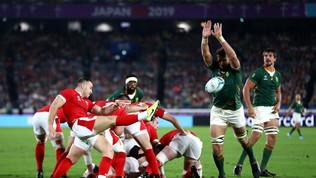 Il Sudafrica piega il Galles: sarà finale con l'Inghilterra