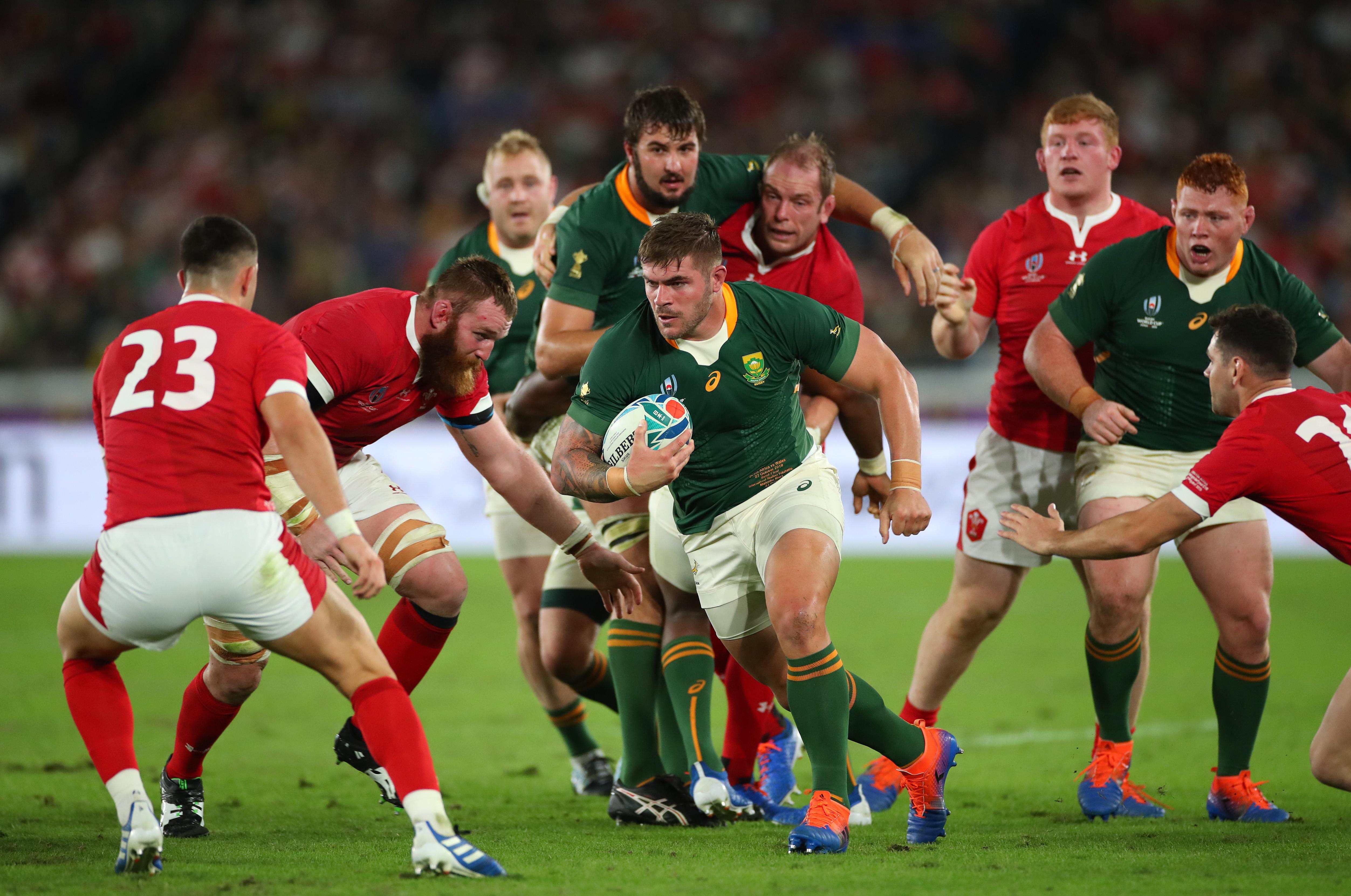 Gli Springboks si guadagnano l'accesso alla finale dei Mondiali di rugby