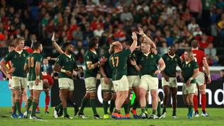Sudafrica allo sprint, Galles beffato