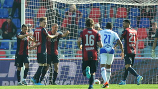 Bologna-Samp 2-1: i rossoblù tornano alla vittoria