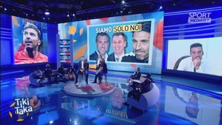 Buffon con Vieri e Cassano: show e risate
