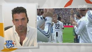 """Buffon: """"Ringrazierò la Juve per sempre, Conte fa miracoli sportivi"""""""