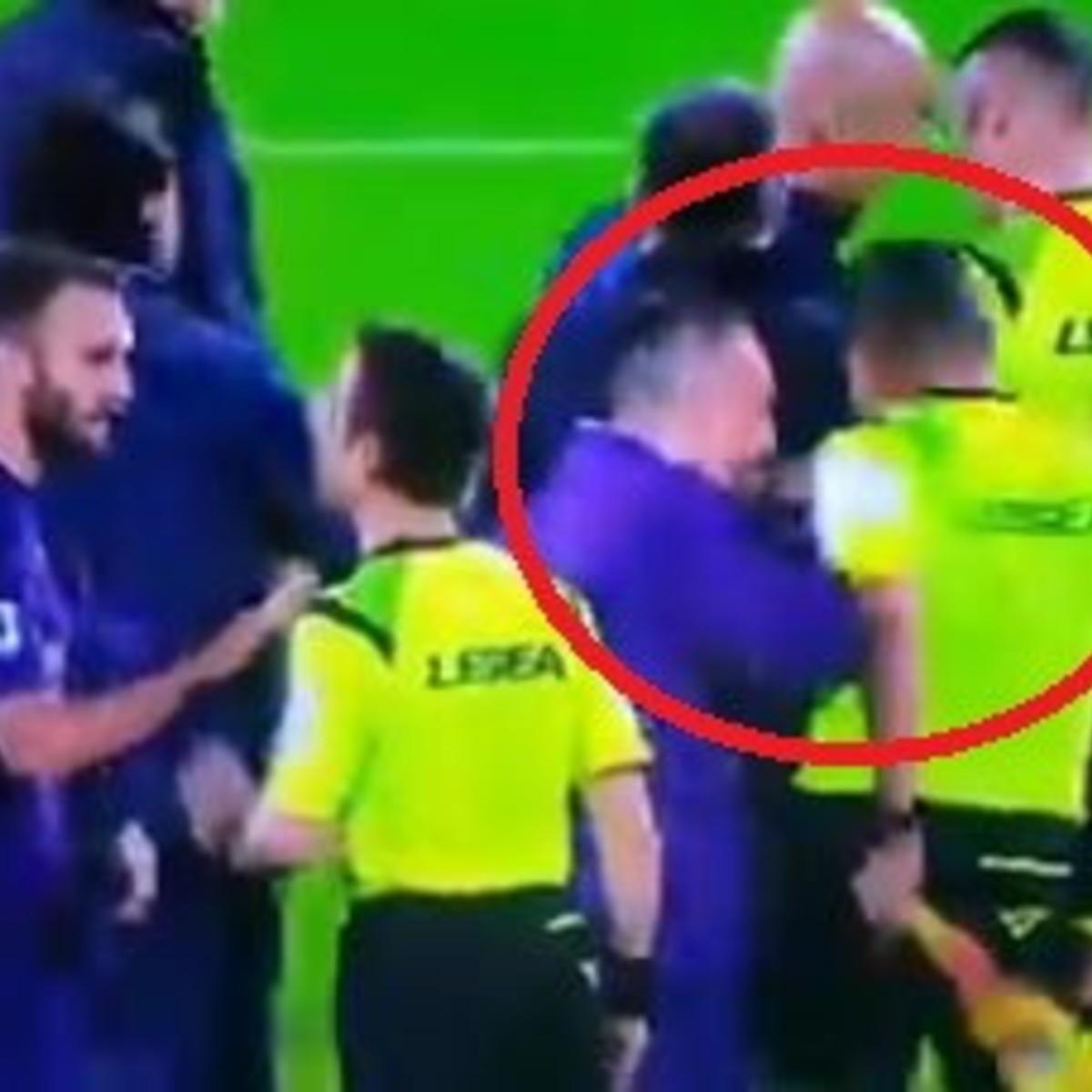 Fiorentina, Riberysqualificato tre giornateper la spinta al guardalinee