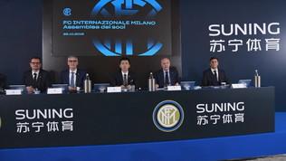 """Ricavi record: 417 mln. Perdite a quota 48 mln. Zhang: """"Via alla nuova era Inter"""""""