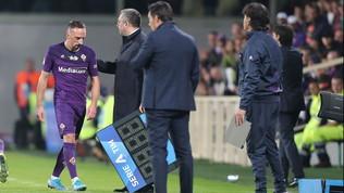 """Fiorentina, Montella: """"Ribery ha sbagliato, ma ci siamo chiariti"""""""