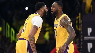 Davis è mostruoso, i Lakers demoliscono Memphis: ok Miami e Dallas