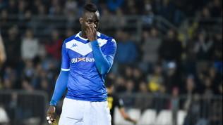 Balotelli, com'è dura tornare in Serie A: un solo gol e tanti errori