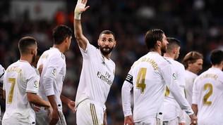Real, cinque gol ed è a -1 dal Barça